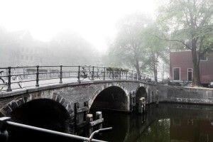 Bridge over Amsterdam canal