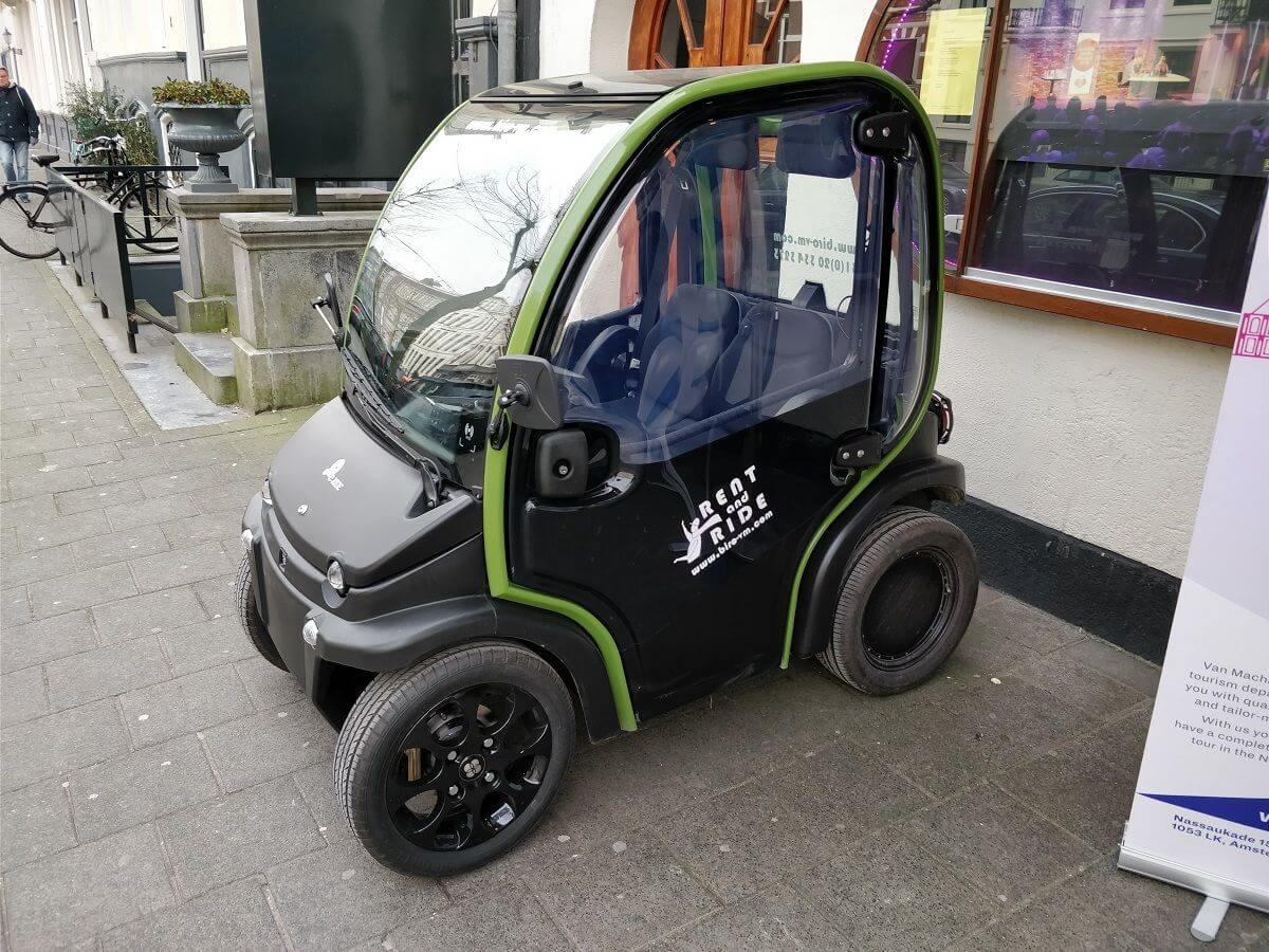 Biro Electric Car Al Amsterdam