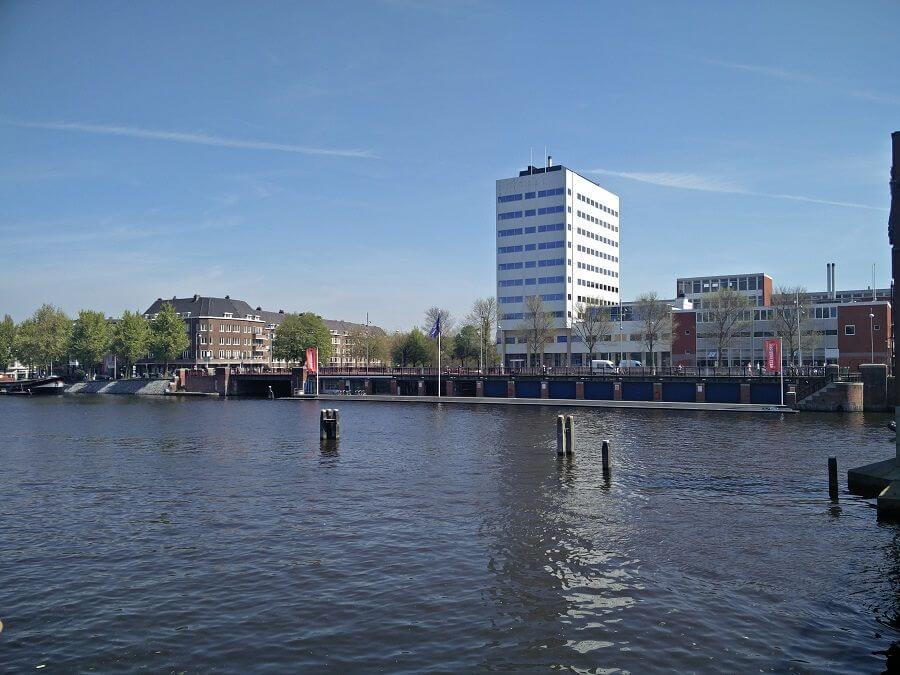 rowing club on amstel swimming spot