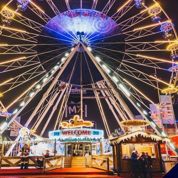 Het Amsterdamse Winterparadijs - indoor christmas fair