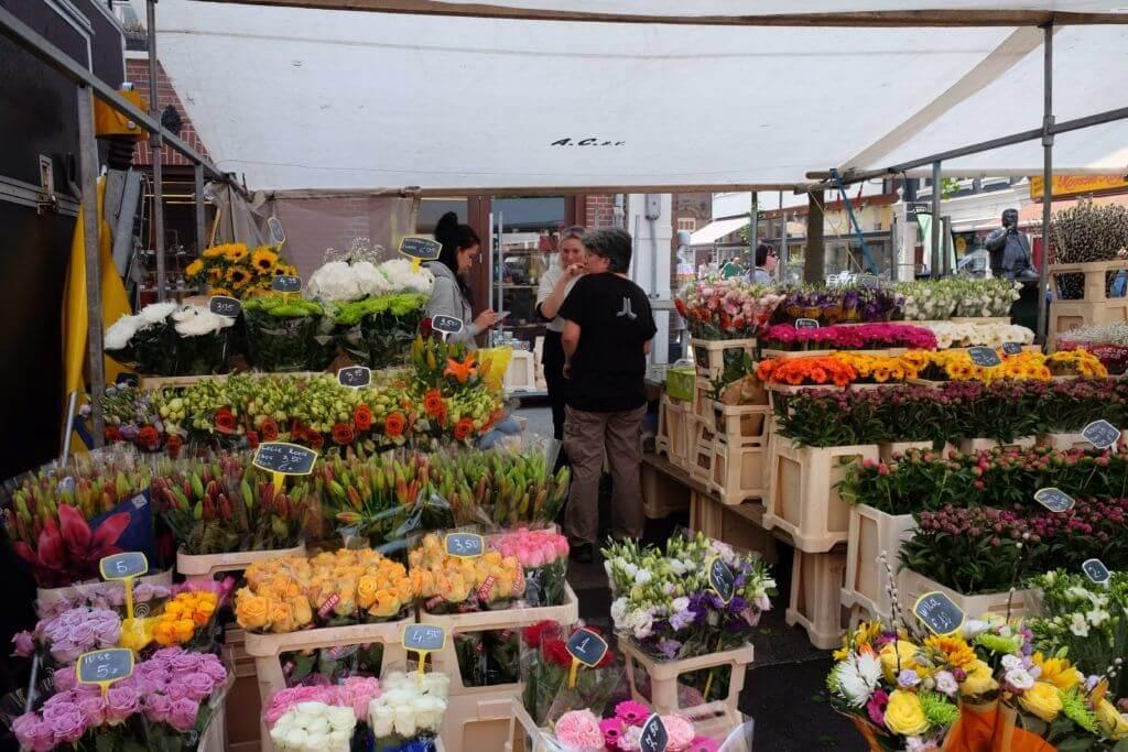 Flower stand, Albert Cuyp Market, Amsterdam