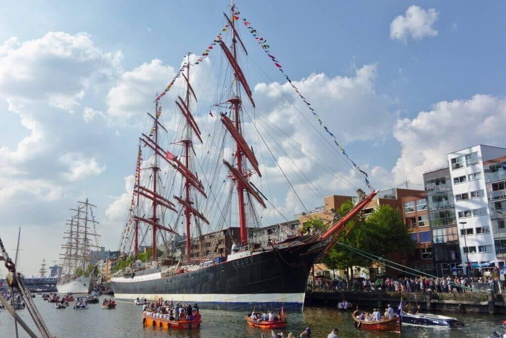 Sail Amsterdam 2020 Tall Ships