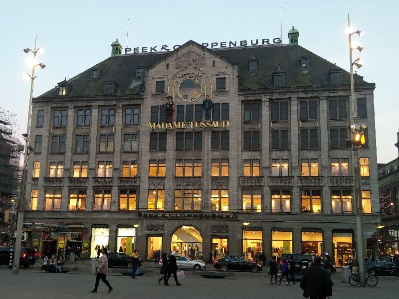 Madamme tussauds dam square