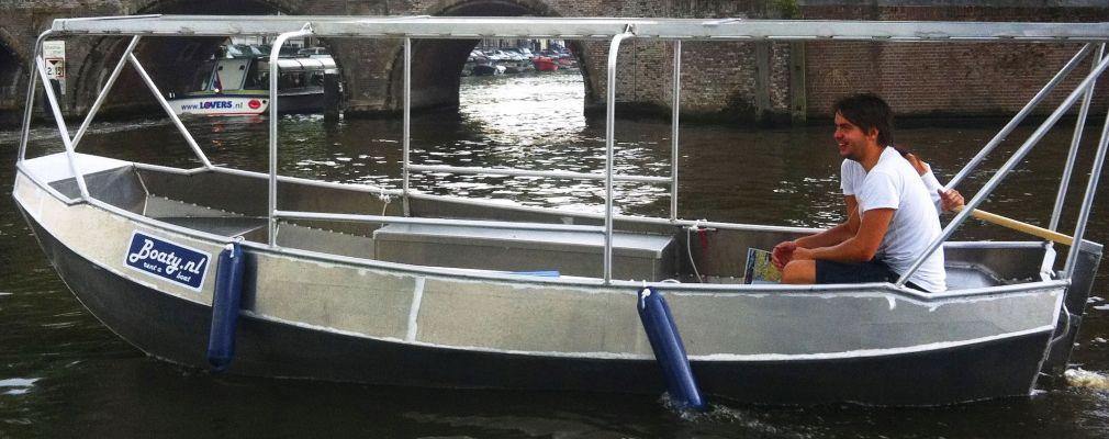 Boaty boat rentals in Amsterdam
