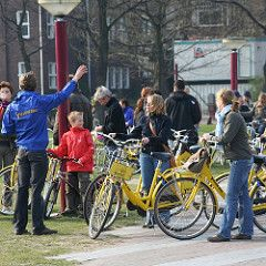 Yellow Bike Rental - thingstodoinamsterdam.com