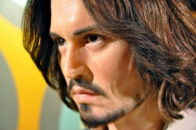 Johnny Depp Madame Tussauds Amsterdam