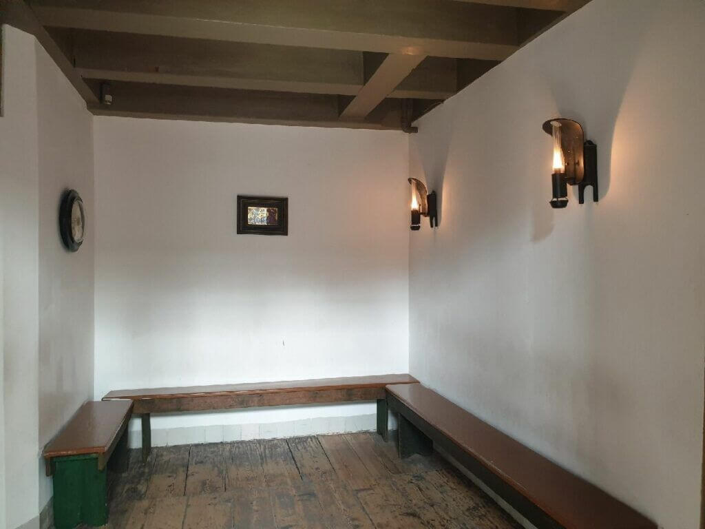 A 16th Century Meeting Room at the Museum Ons Lieve Heer op Solder Amsterdam