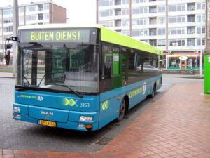 Amsterdam Schiphol Airport to Amsterdam Central Station by Bus