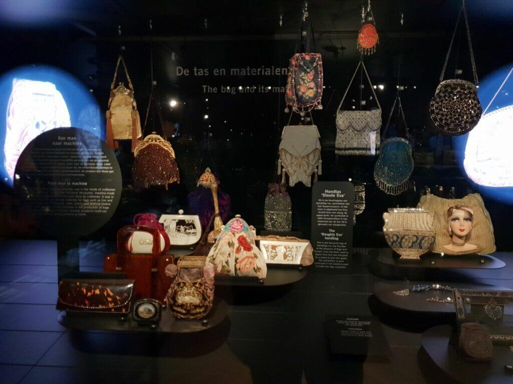 Bags at Museum of bags and Purses Amsterdam