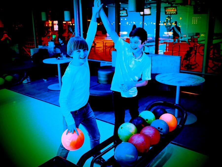 Bowling fun for young and old