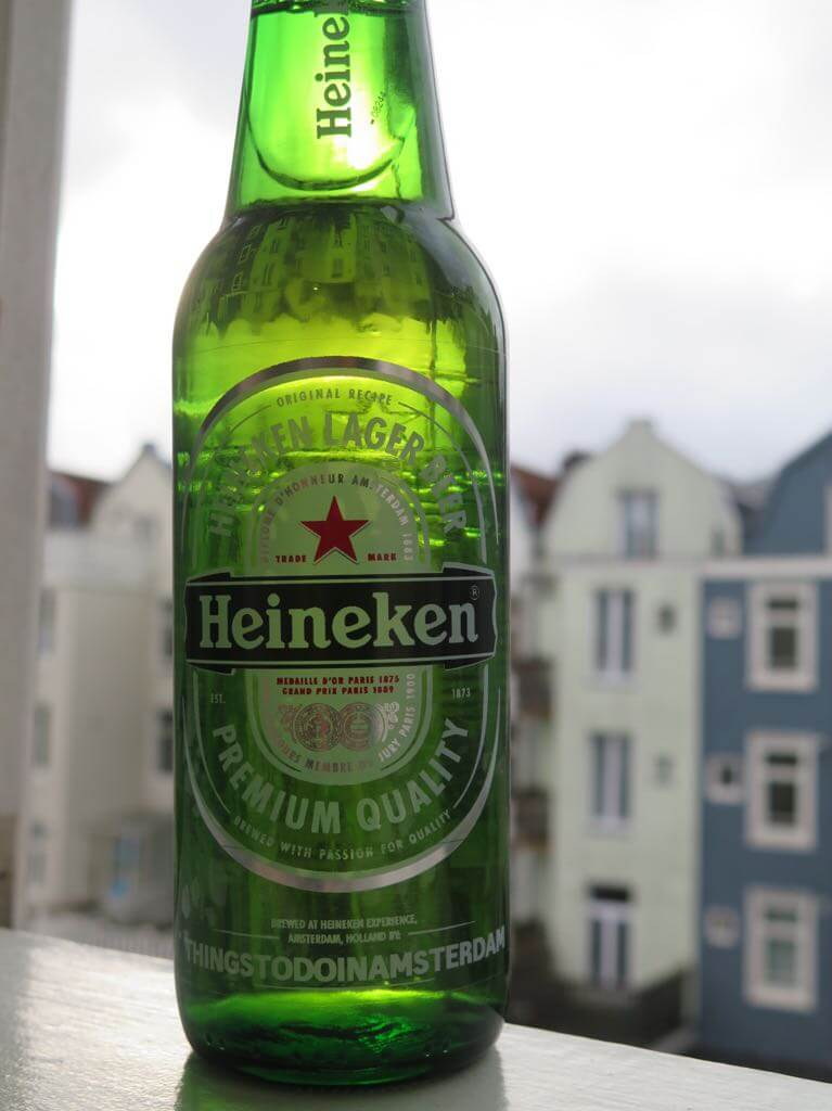 Heineken Experience - personalized beer bottle