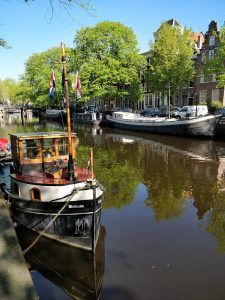 boats on Brouwersgracht