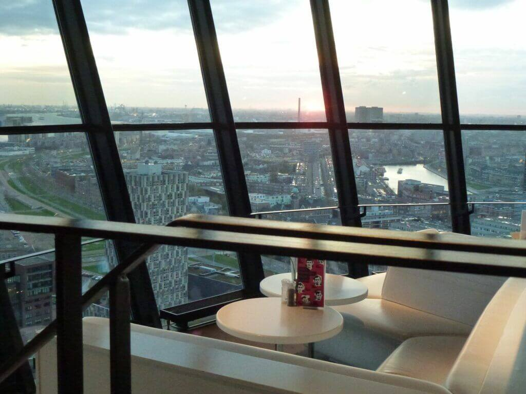 Inside the Euromast Rotterdam