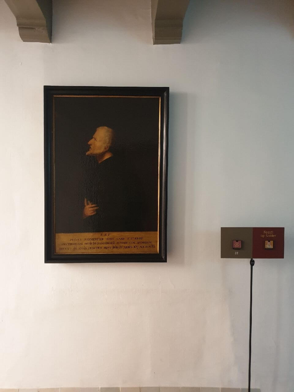 Petrus Parmentier - First Priest at the Ons Lieve Heer op Solder church Amsterdam