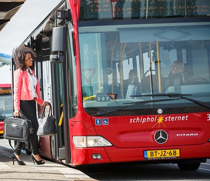 Schiphol Airport bus