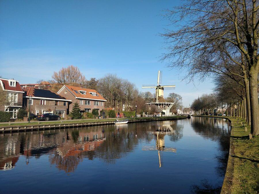 Weesp - traditional Dutch windmill