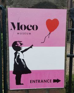 moco museum sign entrance
