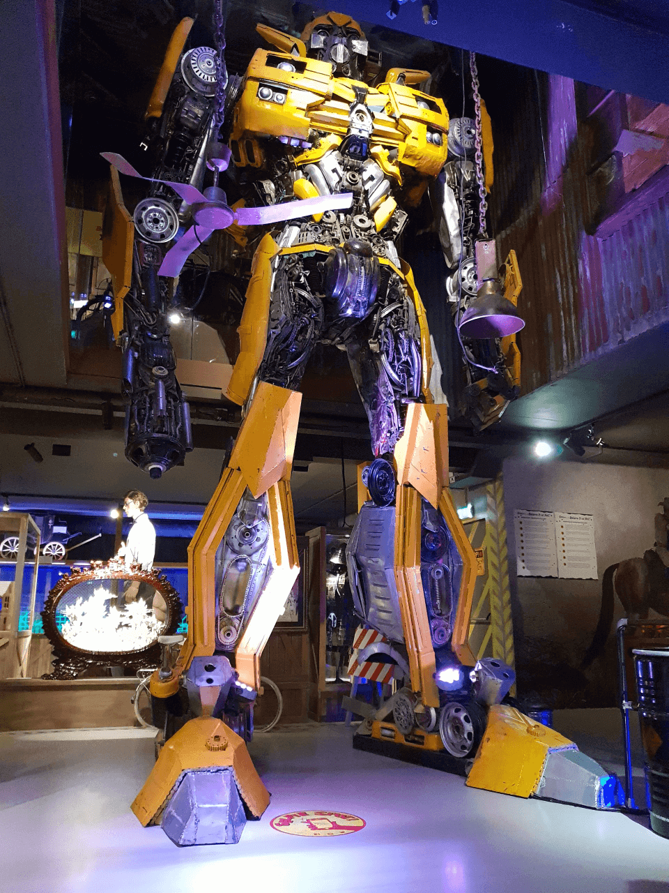 Transformers bij Ripley's Believe It or Not Amsterdam!