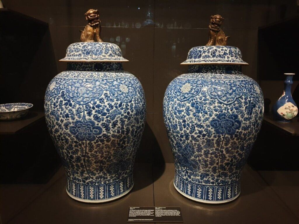 Delft Blue at the Rijksmuseum Amsterdam