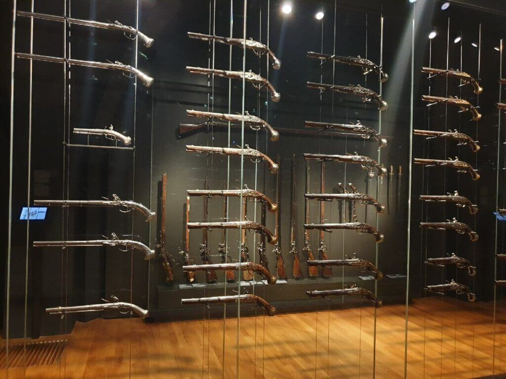 Old Muskets at the Rijksmuseum Amsterdam