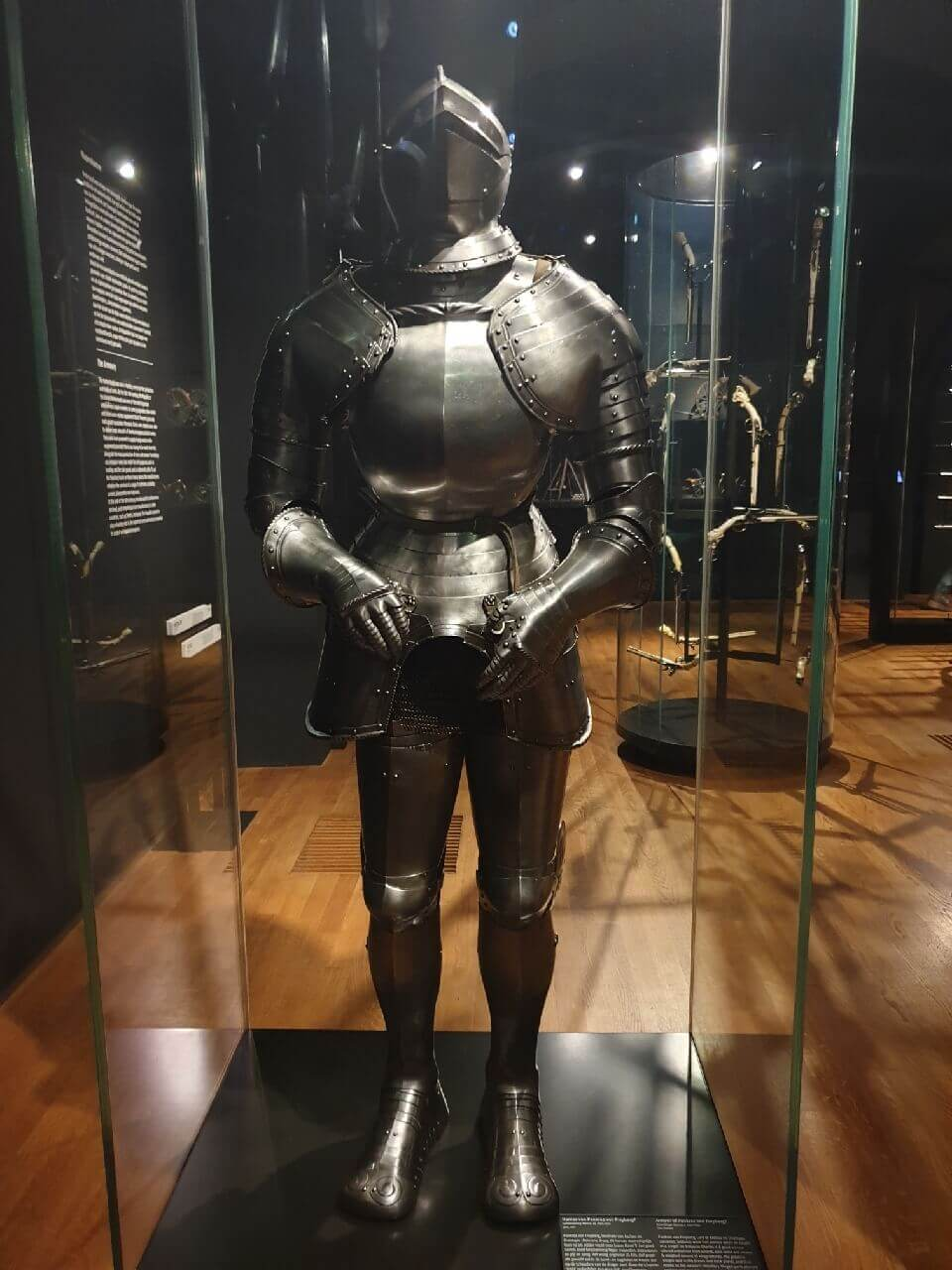 Old armour at the Rijksmuseum Amsterdam