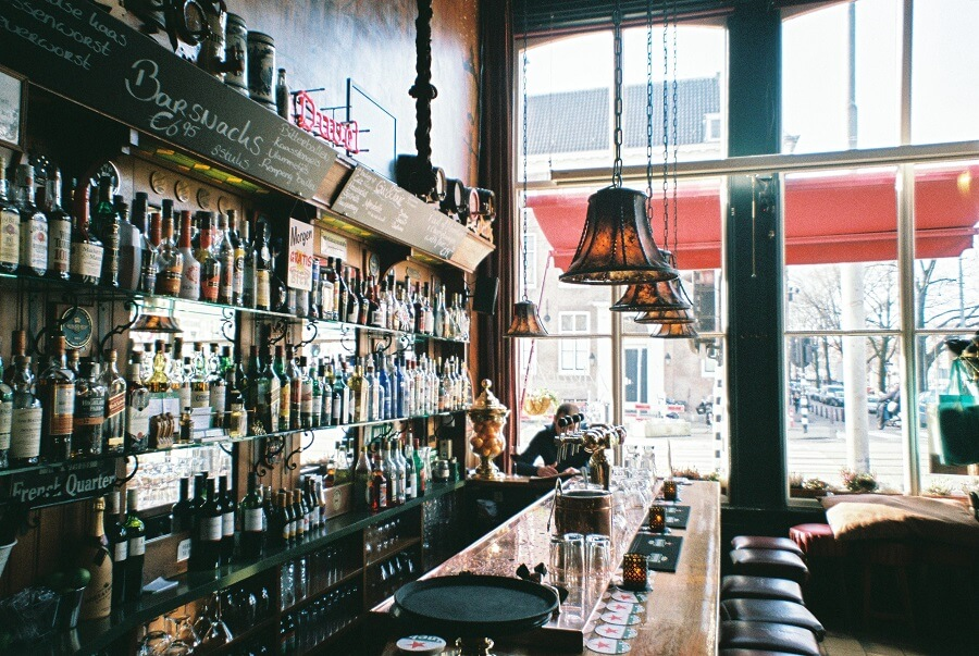 What is a brown café and which are the best ones in Amsterdam?