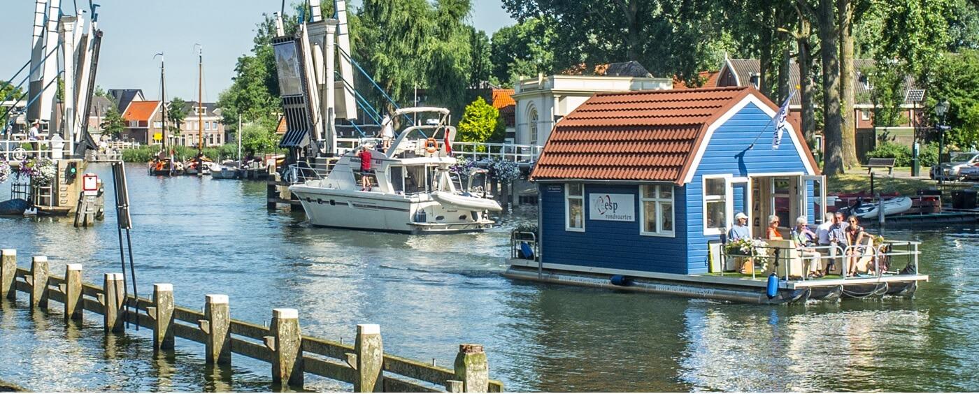 Vuurlinie weesp boat tour